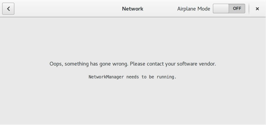 Cannot Automatically start NetworkManager in Ubuntu 16.04