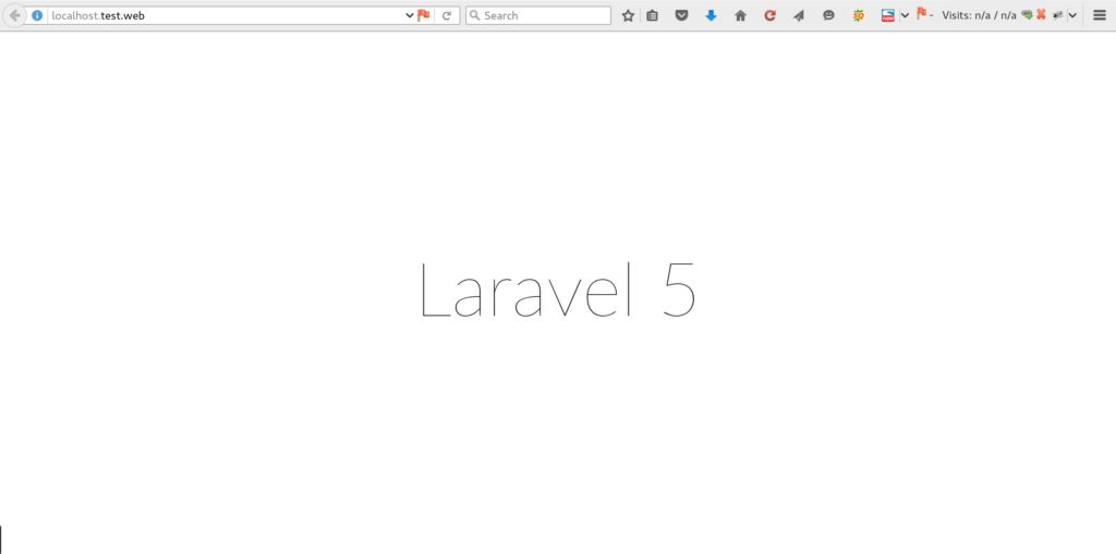 Installing Laravel 5 - Just Another Sharing Site