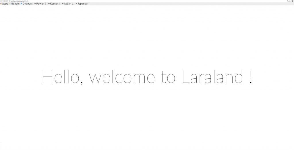 Create Controller in Laravel using command
